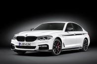 Máris sportos kiegészítőket aggattak az új 5-ös BMW-re