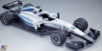 A 2017-es Forma-1-es autó, ami nem lép pályára