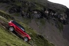 Sípályán száguldott alá a Range Rover Sport