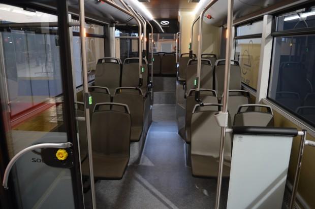Az utastér minden bizonnyal elnyeri a retró vonalat képviselő utasok tetszését.