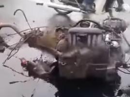 Kiszakadva is járt a motor a brutális baleset után