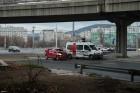 Mentőautó ütközött a Flórián téren