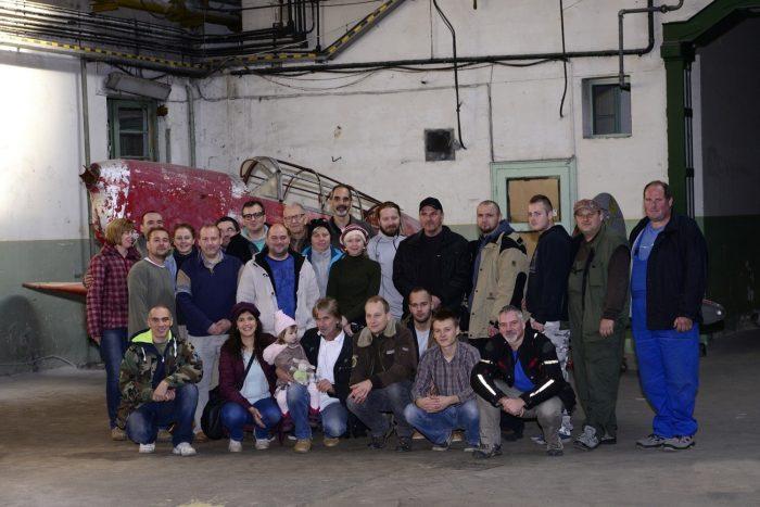 Már alakul a felújításban résztvevők lelkes csapata