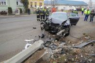 Rosszul lett a sofőr, tarolt az Audi Szombathelyen