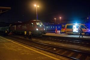 Idős nőt gázolt el a vonat a Keleti pályaudvaron