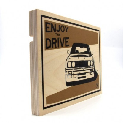 BMW-E30-Wood-Print-by-Always-Garagista-1-740x739