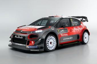 Itt a Citroën új WRC-s raliautója