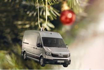 Akassz egy vadiúj furgont a karácsonyfára!