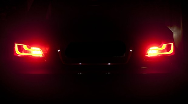 Fog lamps on