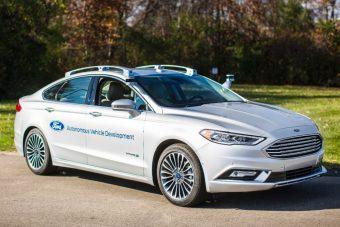 Ilyen a Ford új önvezető autója