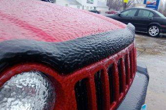 Riasztás – Ónos eső nehezíti a közlekedést