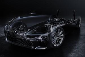 Januárban jön a Lexus új zászlóshajója
