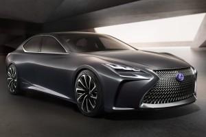 Hidrogén hajthatja a Lexus új csúcsmodelljét