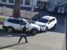SUV-okkal vívtak csatát a dühös nők