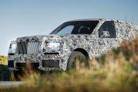 Fejedelmi terepjáró jön a Rolls-Royce-tól