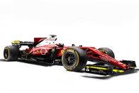 F1: Ütős képek az összes 2017-es autóról