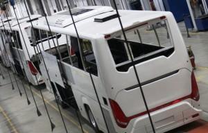 Külön üzem épült Kínában az exportra készülő buszoknak