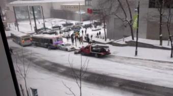 Őrült káoszt hozott a hó, ott, ahol a legkevésbé számítanál rá