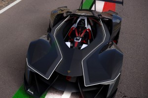 Villanysportkocsi a Lamborghinitől