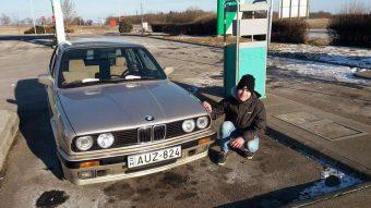 A magyar srác, aki visszaszerezte első autójat