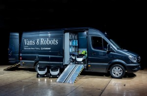 Szállítórobotokkal kacérkodik a Mercedes-Benz