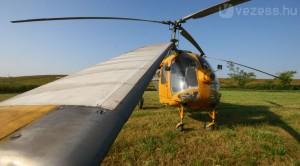 Így indul egy 48 éves orosz helikopter, kell gépészkedni mire életre kel