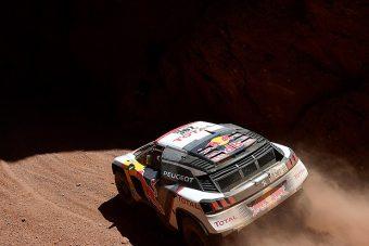 Despres átvette a vezetést a Dakaron