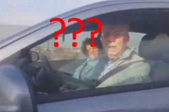 Pokolit hibázott egy idős sofőr Budapest felé