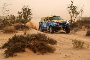Africa Race: Homokvihar nehezítette a magyar versenyzők dolgát