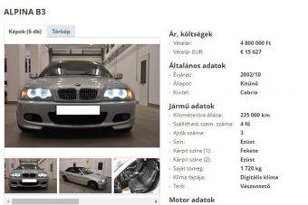 BMW-ritkaság eladó itthon, ez az egy van belőle