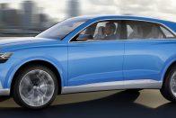 Audi Q8 Concept: Lifestyle, praktikusan
