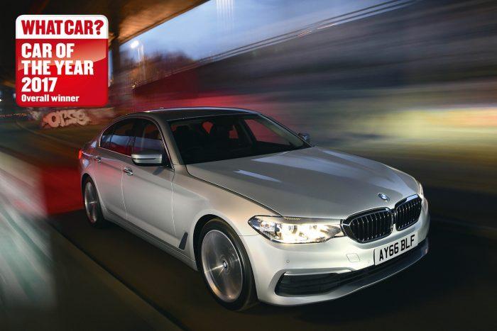 És az év legjobb újdonsága… a BMW 5.