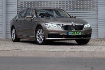 Zöld király: BMW 740e