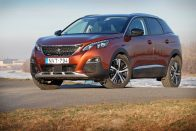 Teszt: Peugeot 3008 Allure 1,6 BlueHDi 120 LE
