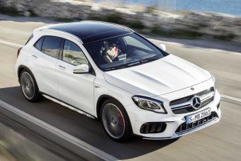 Mercedes GLA: krómban újult a crossover