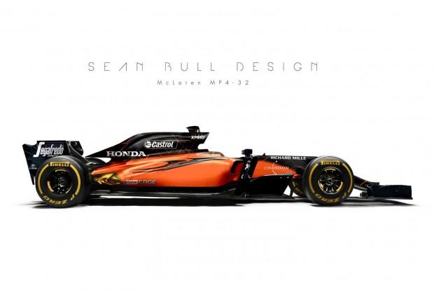 F1: Így nézhet ki az új McLaren – videó