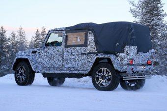Iszonyatos luxus-pickup a Mercedestől