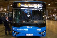 Száznál is több autóbuszt vásárolt tavaly a BKV