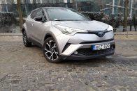 Teszt: Toyota C-HR 1.8 Hybrid