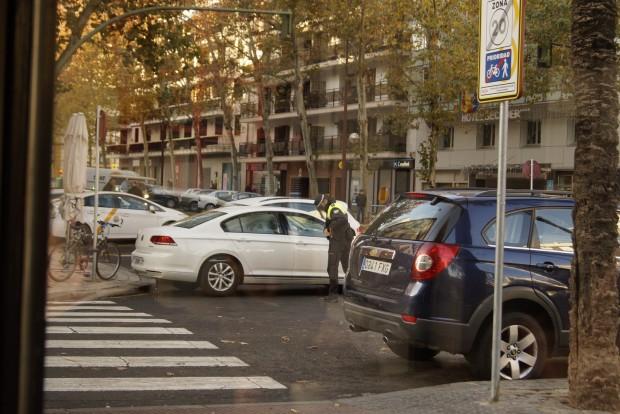 A tilosban parkolásért hamar jön a bünti Sevillában