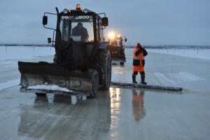 Pokoli télben így lesz jégből út az oroszoknál