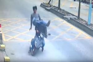 Az év videója, ahogy lekapcsolják ezt a tolvajt