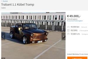 15 millióért árulnak egy Trabantot, de milyet!?