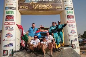 Szalayék kategória-másodikak lettek Afrikában