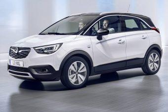 Itt az Opel vadonatúj kompakt crossovere, a Crossland X