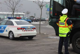 Hibás fékkel szállított utasokat egy busz Borsodban