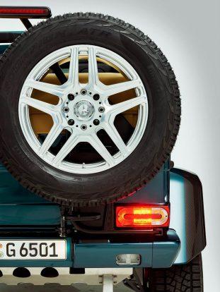 Mercedes-Benz G65 AMG 4x4² kabrió
