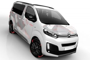 Játékbusz felnőtteknek: Citroën SpaceTourer 4X4 Ë Concept