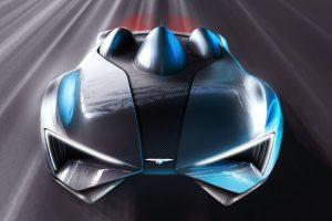 A múltba megy előre a kínai szupersportkocsi
