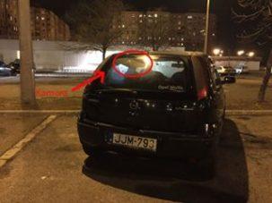 Opelba rejtett kamerával vadásztak a közteresek, ötvenezret ért egy kanyar